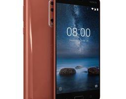 3D model Nokia 8 Polished Copper