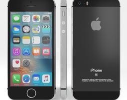 3D model Apple iPhone Se