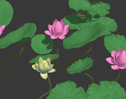 3D lotus leaf