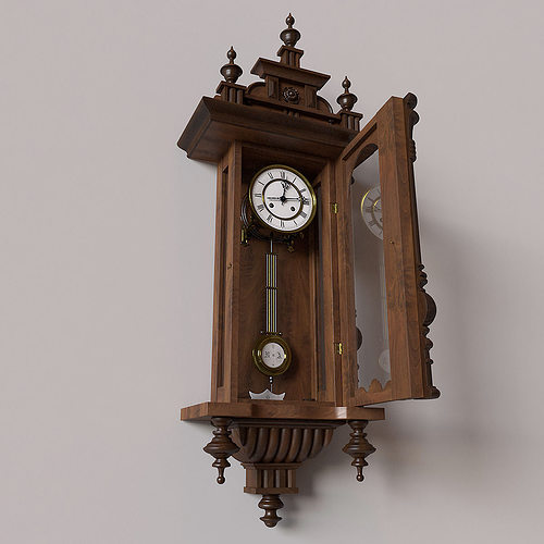 antique pendulum wall clock model max obj vintage pictures repair collectors price guide