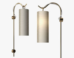 3D Articolo lighting - Staff wall sconce