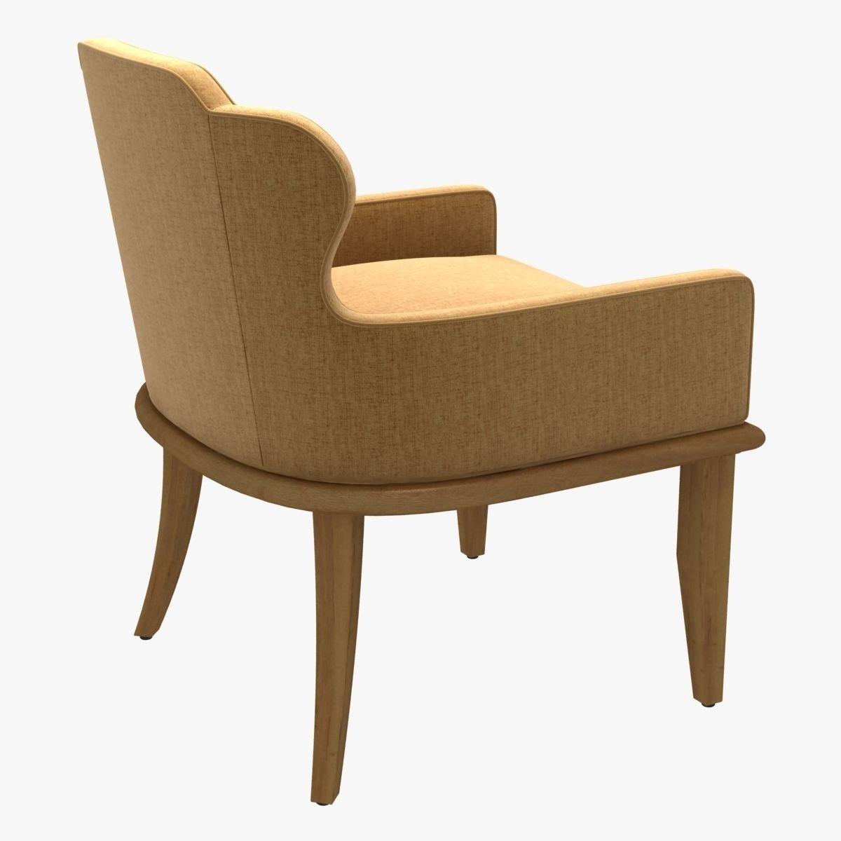 Merveilleux ... Charter Furniture Halsey Occasional Lounge Chair 3d Model Max Obj 3ds  Fbx Stl Mtl 2 ...