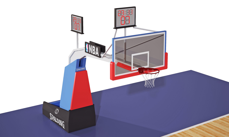 Basketball Court 3d Cgtrader Hoop Diagram Model Max Obj Mtl Fbx 4