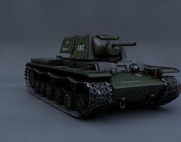 Heavy Tank KV-1 3D