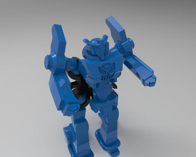 Transformers Robots in disguise from kinder toy | 3D Print Model