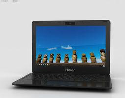 3D Haier Chromebook 11 Black