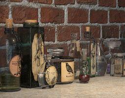 Magic Potions 3D model