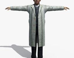 3D Asian Man 02