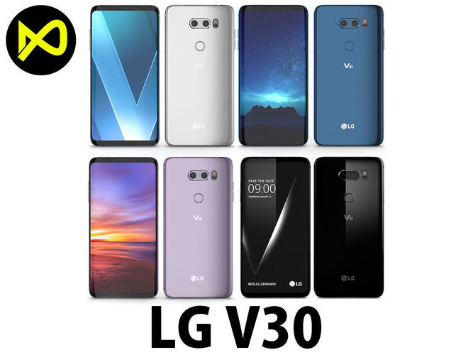 lg v30 all colors 3d model max obj mtl 3ds fbx c4d lwo lw lws 1
