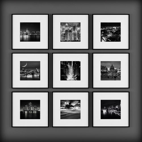 picture frames 3d model max fbx 1