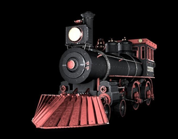 Locomotive Virginia 3D