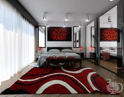 3D model Bedroom 4