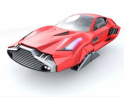 3D model Hover sport car