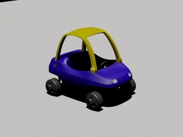 toy car for kids 3d model max 1