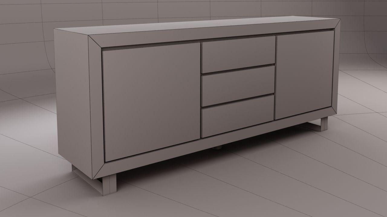 3D model of Ikea Alexia Buffet 3D Model .max - CGTrader.com