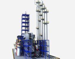 Fluorine Factory Equipment 3D model