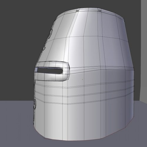 3D Model Great Helm 3D Model .obj .3ds .fbx .dae .blend