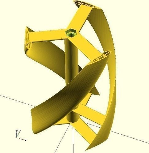 Gratifying image regarding 3d printable wind turbine
