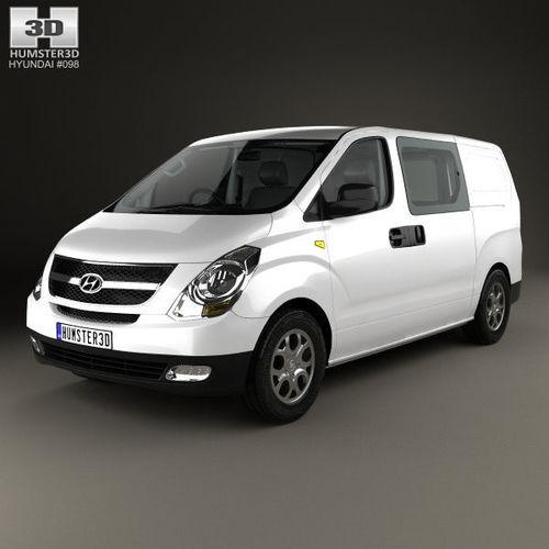 Hyundai iLoad with HQ interior 2010 | 3D model