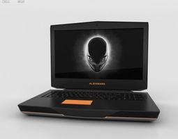 3D Dell Alienware 18 alienware
