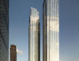 3D exterior architectural City Scene