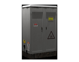 Transformer box - Game Ready 3D model