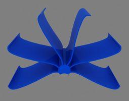 3D asset Kartell Front Page Rack