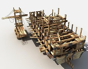 Ship is being Built 3D