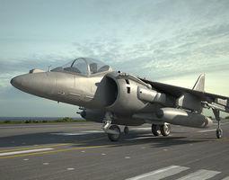 McDonnell Douglas AV-8B Harrier II 3D model