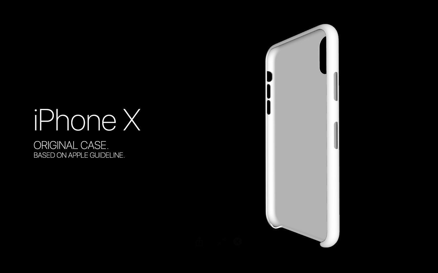 iPhone X Original Case Model