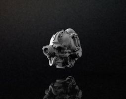 Servo Skull 3D print model Full Version