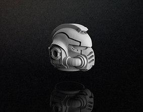 Primaris Space Marine Helmet 3D Model pendants