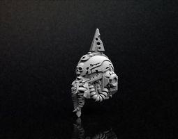 Plague Space Marine Helmet 3D Print Model