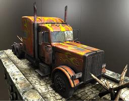 3D asset Big Truck
