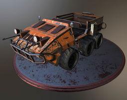 3D model Thunder Transporter