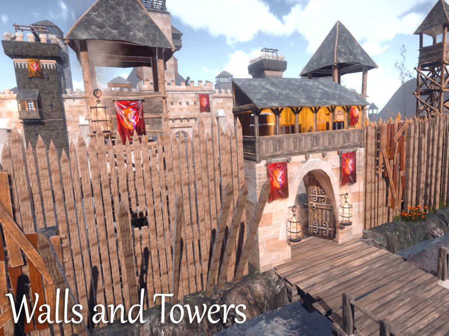 Walls and Towers Update