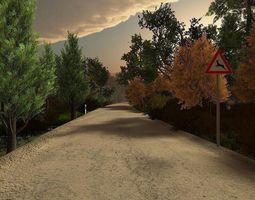 3D asset Vegetation Models