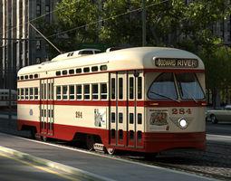 PCC Streetcar 1945 3D