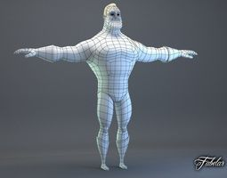 Mr Incredible Rigged 3D Model
