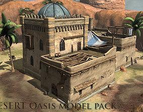 Desert Oasis 1 3D model