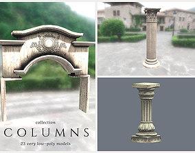 Columns Pack 3D model