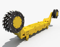 3D model Coal Mining Machine