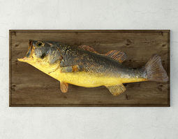 Vintage Fish Mount 3D