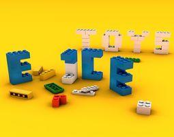 Lego Toys 3D