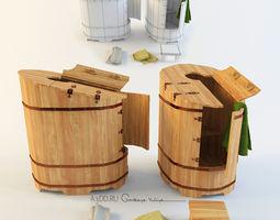 Phyto barrel 3D model
