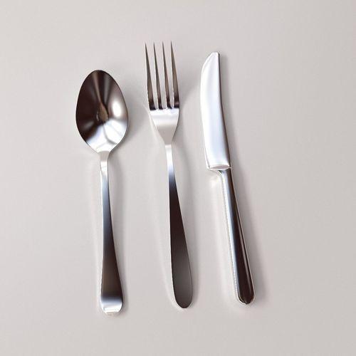 Cutlery Set3D model