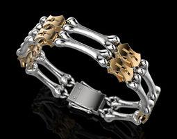 Bracelet Bones 3D printable model