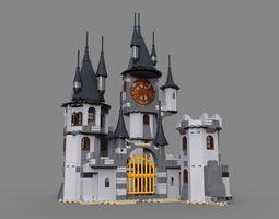 Lego fantastic castle 3D