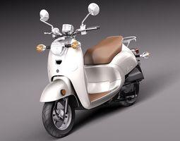 Yamaha Vino Classic 2014 3D Model
