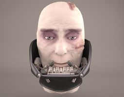 Vader Head Star Wars 3D model